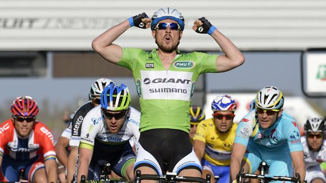 Cycling - Degenkolb wins stage three, takes leader's jersey