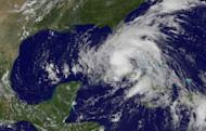 GOES-East satellite image released by NOAA on August 26 shows Tropical Storm Isaac. Three US Gulf Coast states have declared states of emergency as Tropical Storm Isaac barreled toward land, threatening to slam into Louisiana as a hurricane