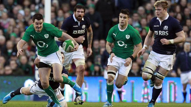 Six Nations - Ireland coast past Scotland as O'Driscoll sets cap record