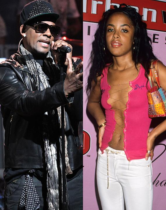 R&B singers Aaliyah and R Kelly had a very scandalous reason to keep the marriage a secret: Aaliyah was under age when they reportedly wed in August 1994. The bride was only 15 (though she their marri