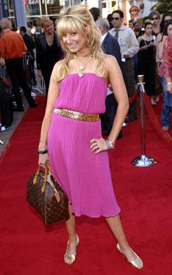 Ashley Tisdale at the Universal City premiere of Universal Pictures' The Perfect Man