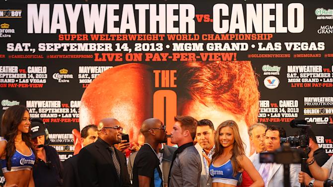 Floyd Mayweather and Canelo Alvarez News Conference