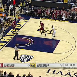 Highlights: Cal men's basketball rolls past Stanford in Battle of the Bay