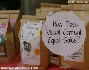 How Does Visual Content Equal Sales?  image how does visual content equal sales 600x469