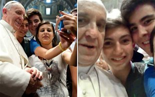3 PR Pointers From Pope Francis image pope selfie