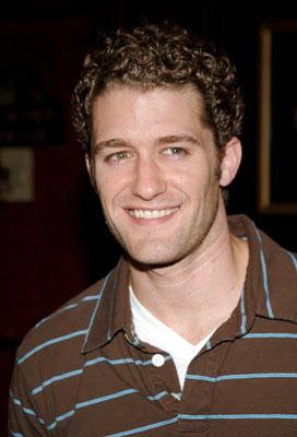 Matthew Morrison at the New York premiere of Dreamworks' The Island