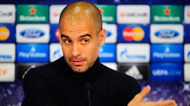 Champions League - Guardiola: Moyes has 'nine players at the back'
