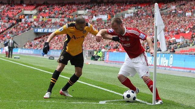 League Two - Newport beat Wrexham in Conference play-off final