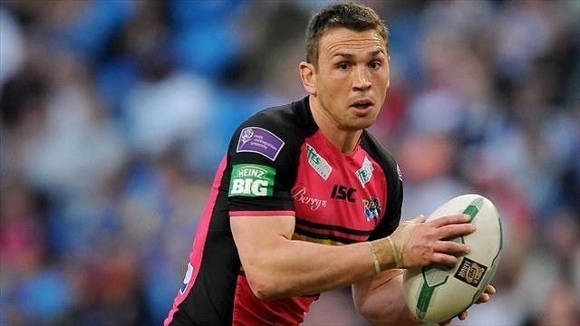 Rugby League - Sinfield makes Leeds Rhinos squad after injury