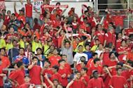 """Live"" screening of AFF Suzuki Cup semi-final between Singapore and Philippines"