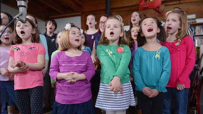 Sandy Hook sings