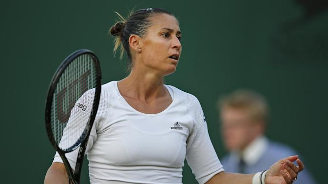 Top seed Pennetta pulls out of Gastein Ladies