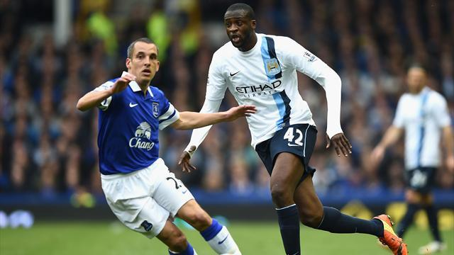 Premier League - City admit they 'expect title' after Everton win