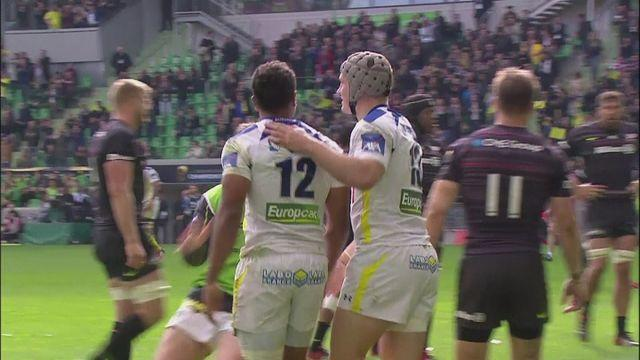 Clermont beat Saracens 13-9 to reach ERCC final