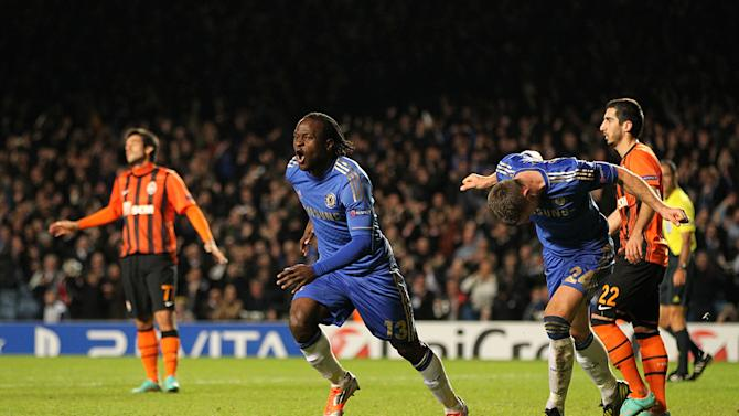 Victor Moses grabbbed a late winner for Chelsea