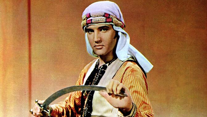 "Elvis Presley in ""Harum Scarum"""