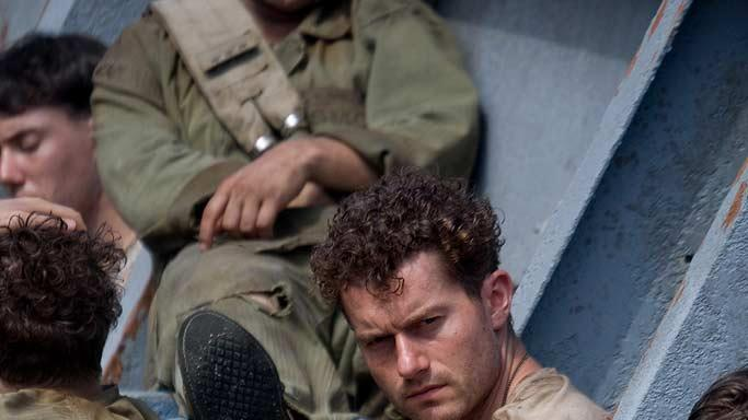 "Jacob Pitts and James Badge Dale in ""The Pacific."""