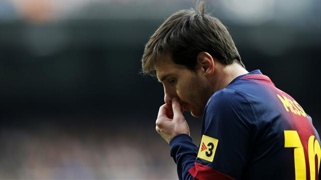 Liga - Messi to miss La Liga season finale