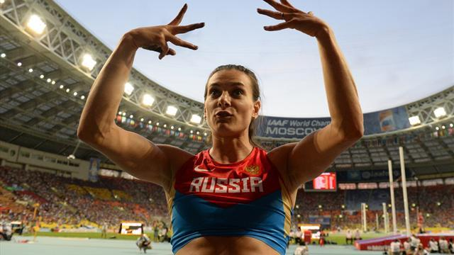 World Championships - Golden Isinbayeva soars again