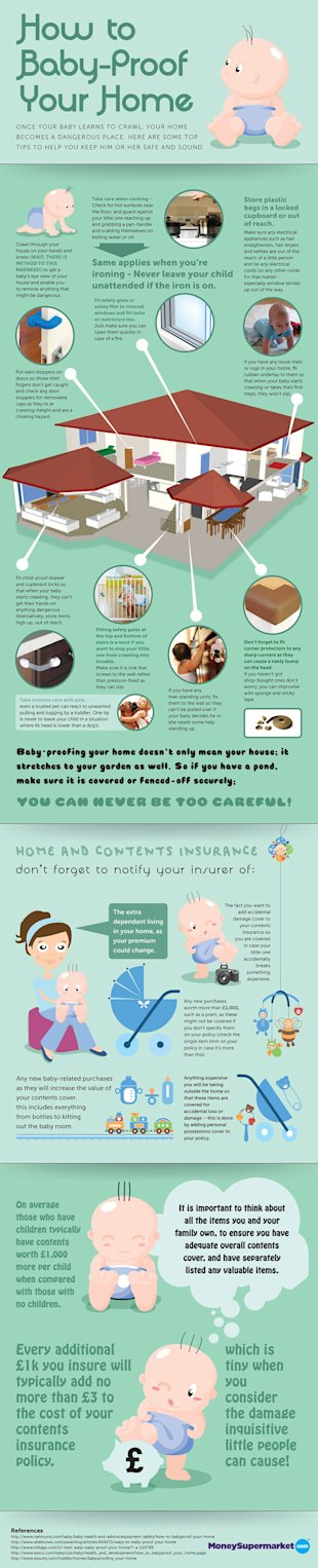How to Baby Proof Your Home [Infographic] image 08.03.13 baby proof