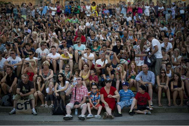 Tourists Flock To Barcelona As Spain Inches Towards A Full-Scale Bailout