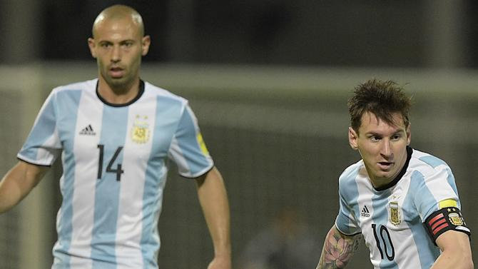 Mascherano: It would have been 'a sin' for Messi to retire from Argentina