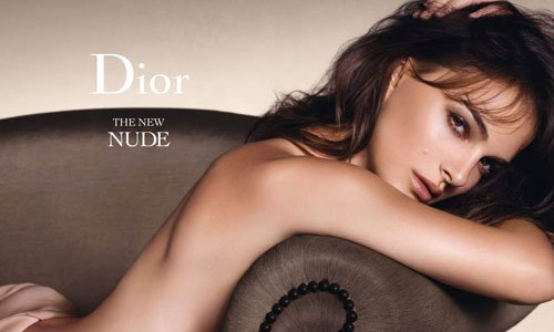 WOW - Natalie Portman Bares All for Dior