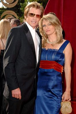 Denis Leary and wife Ann Lembeck 57th Annual Emmy Awards Arrivals - 9/18/2005