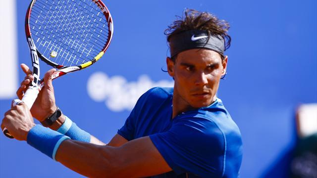 Tennis - Nadal cruises into Barcelona quarter-finals