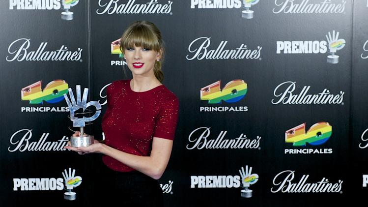 40 Principales Awards 2012 - Press Room