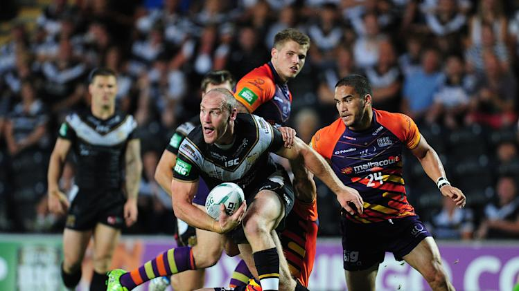 Rugby League - Super League - Hull FC v Widnes Vikings - KC Stadium