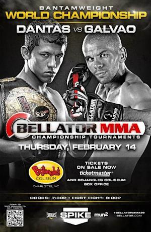 Bellator 89 Results: Eduardo Dantas Scores Emotional KO Win Over Teammate Marcos Galvao