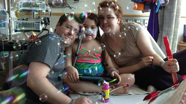 Girl Recovers After Lung Transplant