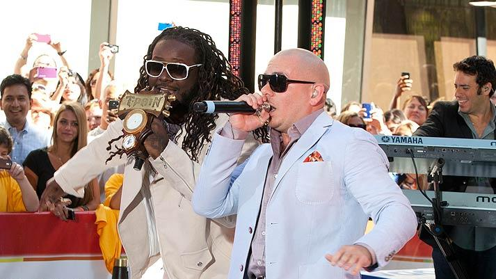Pitbull T Pain Today Show
