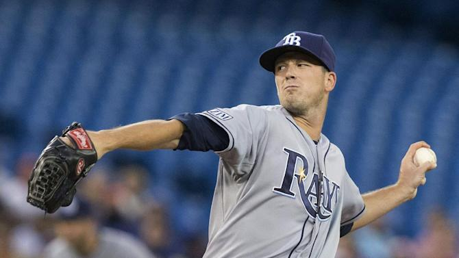 Smyly throws 2-hitter, Rays blank Blue Jays