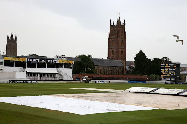Cricket - International Tour Match - Somerset v Australia XI - Day Two - The County Ground