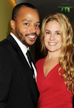 Donald Faison and Cacee Cobb   Photo Credits: Dave M. Benett/Getty Images