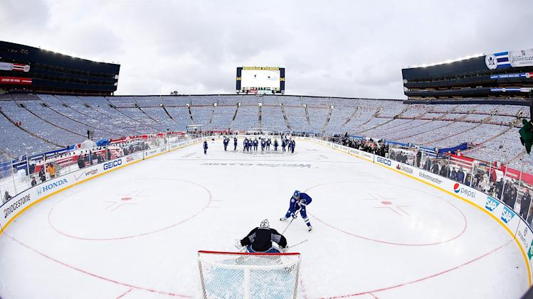 2014 Bridgestone NHL Winter Classic - Team Practice Sessions