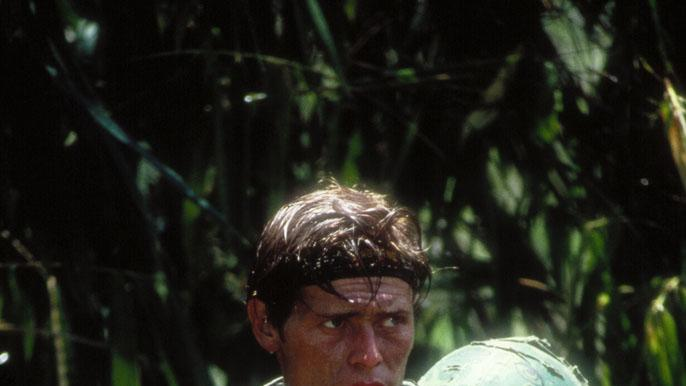 Willem Dafoe Platoon Production Stills MGM 1986
