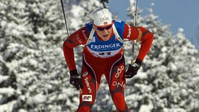 Biathlon - Christiasen takes gold in men's sprint