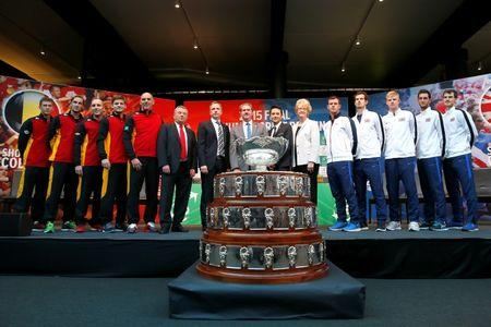 Belgium v Great Britain - Davis Cup Final