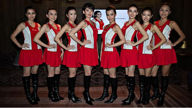 Singtel Grid Girls unveiled