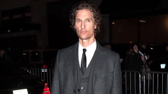 McConaughey on Gaining Weight
