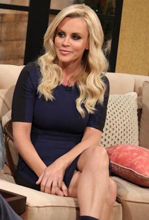 Jenny McCarthy on the set of Access Hollywood Live on February 12, 2013 -- Access Hollywood