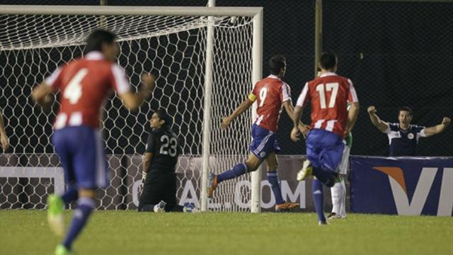 World Cup - Improved Paraguay rout Bolivia, await Argentina