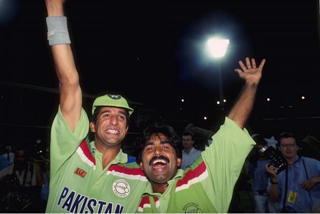 WORLD CUP 92 AKRAM MIANDAD
