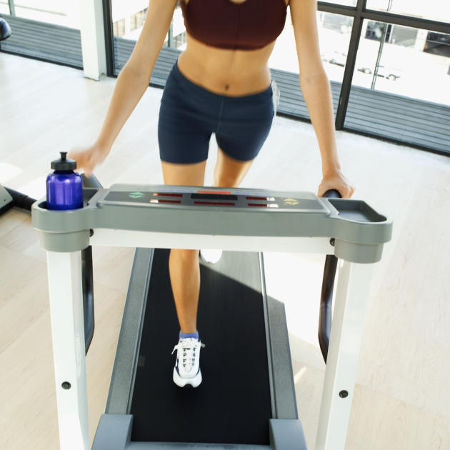 Belly fat? Hit the treadmill, not the weights
