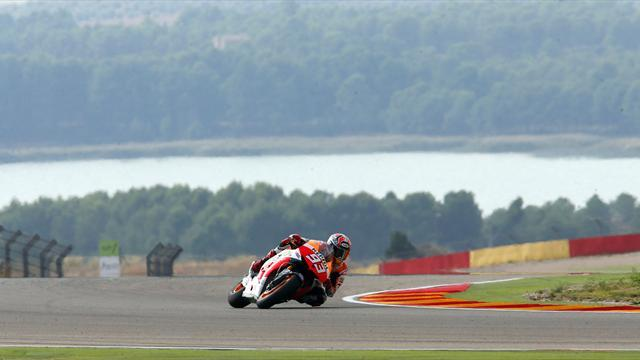 Motorcycling - Marquez given one penalty point