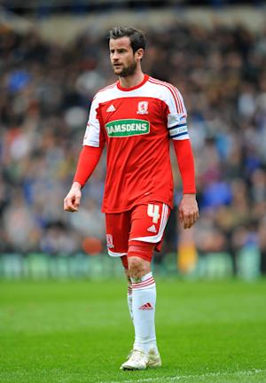 Former Middlesbrough defender Matthew Bates is training with Bristol City