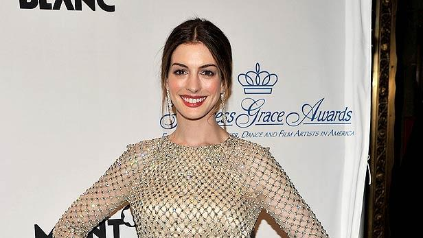 Anne Hathaway Princess Grace Awards